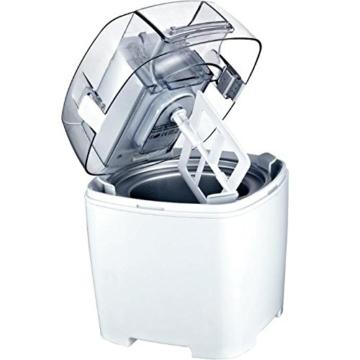 Gino Gelati IC-30W-A 4in1 Eismaschine, Frozen Jogurt-Milchshake Maschine Flaschenkühler - 3