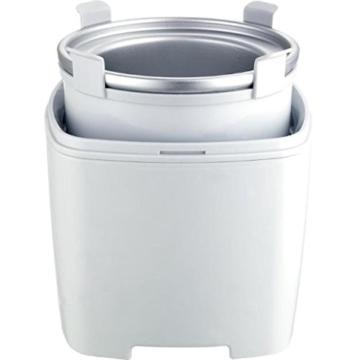 Gino Gelati IC-30W-A 4in1 Eismaschine, Frozen Jogurt-Milchshake Maschine Flaschenkühler - 4