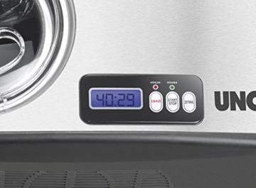 Unold 48806 Eismaschine Cortina Volumen für 1.5 Liter Eiscreme / selbstkühlender Kompressor / Timer / entnehmbarer Eisbehälter / Antihaftbeschichtung - 3