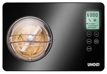 Unold 48845 Eismaschine Gusto 2 L mit digitalem Timer - 6